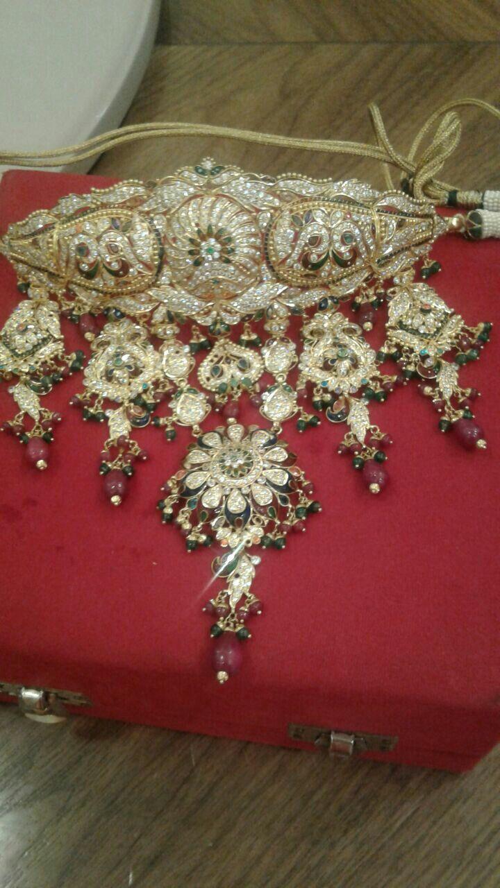 Rajputi jewellery necklace by kuldeep singh | Royal rajputi ...