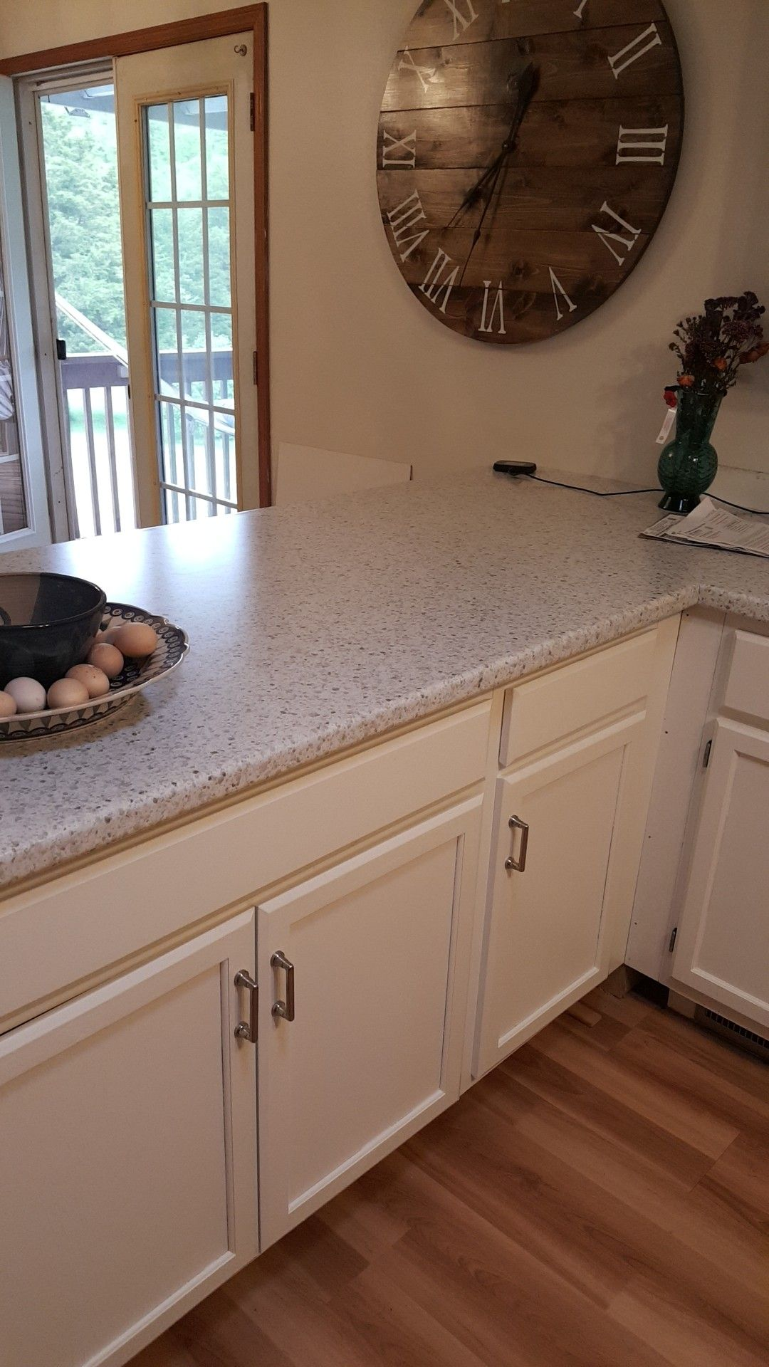 Wilsonart Laminate Countertop In Leche Vesta You Can See The Updated Kitchen Above Or Another Pin I Created