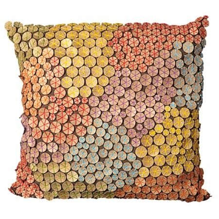 Garbo Pillow in Multi from Mina Victory