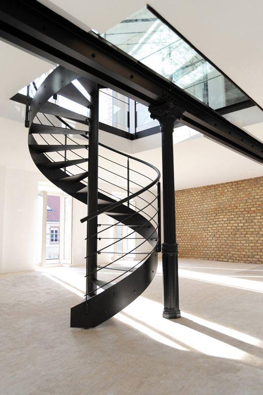 Le Blog De Loftboutik Le Top 10 Des Escaliers Design En Colimacon