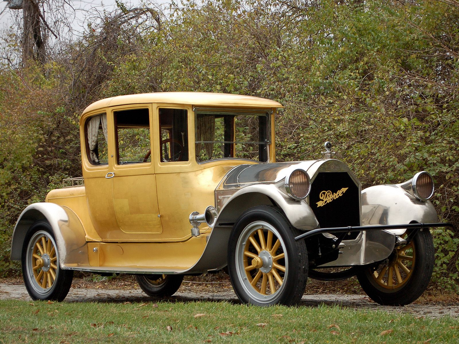 1920 Pierce Arrow Model48 Coupe Series Coupe cars