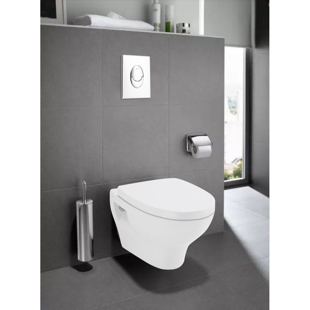 Pack Wc Suspendu Bati Sol Double Rapid Sl Et Pop Blanc Grohe Roca Pack Wc Suspendu Wc Suspendu Pack Wc