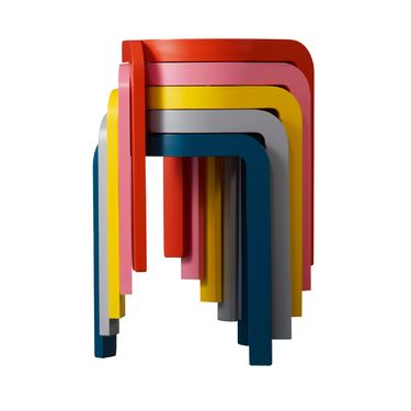 Spin Stackable Stools by Staffan Holm via dwell #Stool #Staffan_Holm #dwell