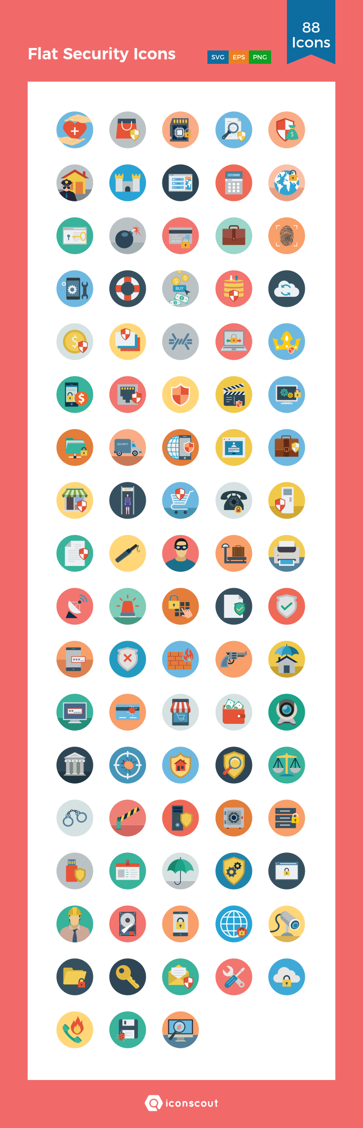 Download Hotel And Restaurant Colored Icons Icon Pack Available In Svg Png Eps Ai Icon Fonts Icon Pack Brochure Design Layout Flat Design Icons