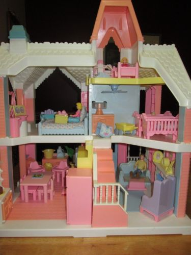 Playskool Play Around Dollhouse Loaded Accessories People Hopefully