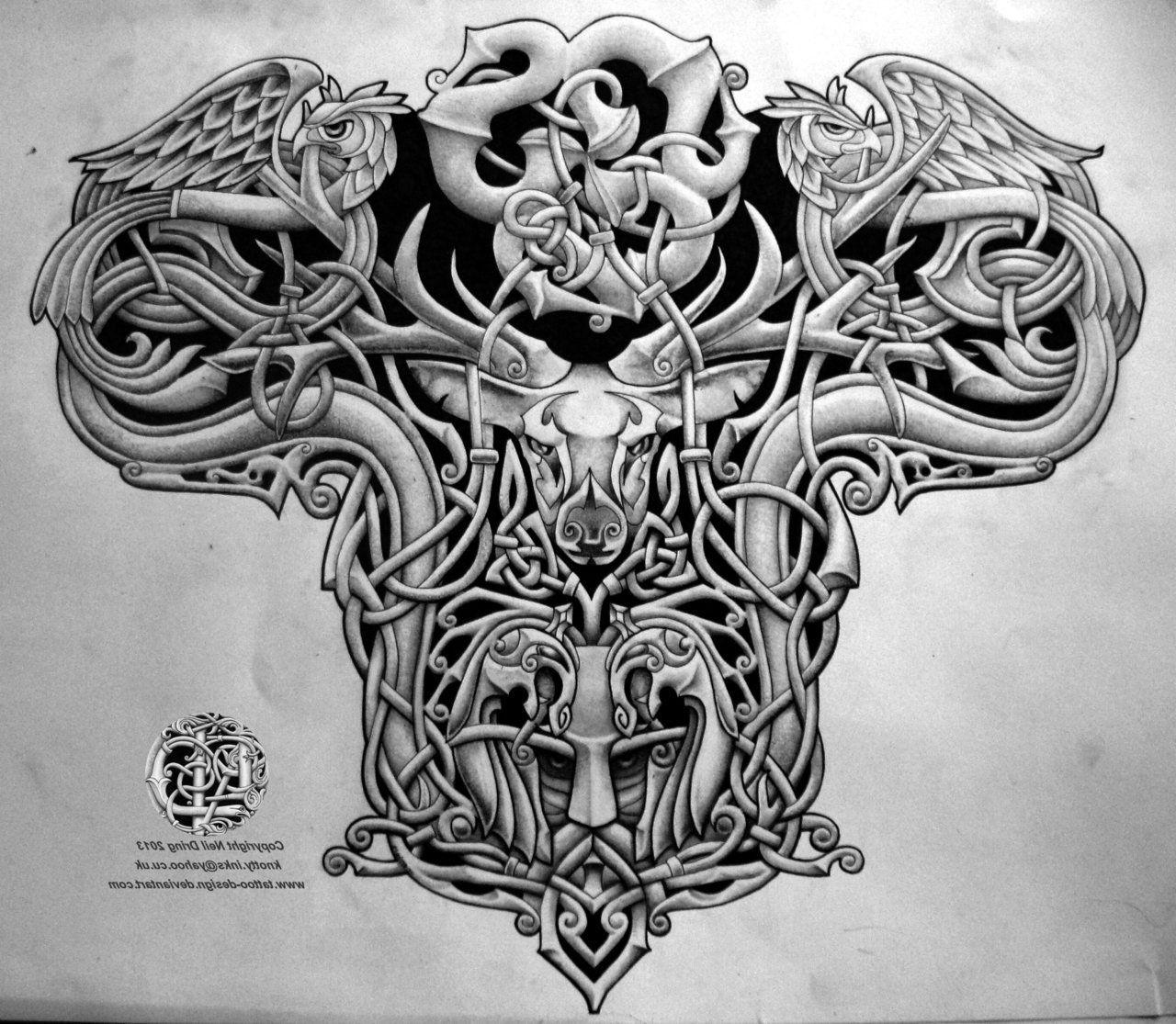 Scottish Warrior Tattoos: Pin By David On Irish Celtic