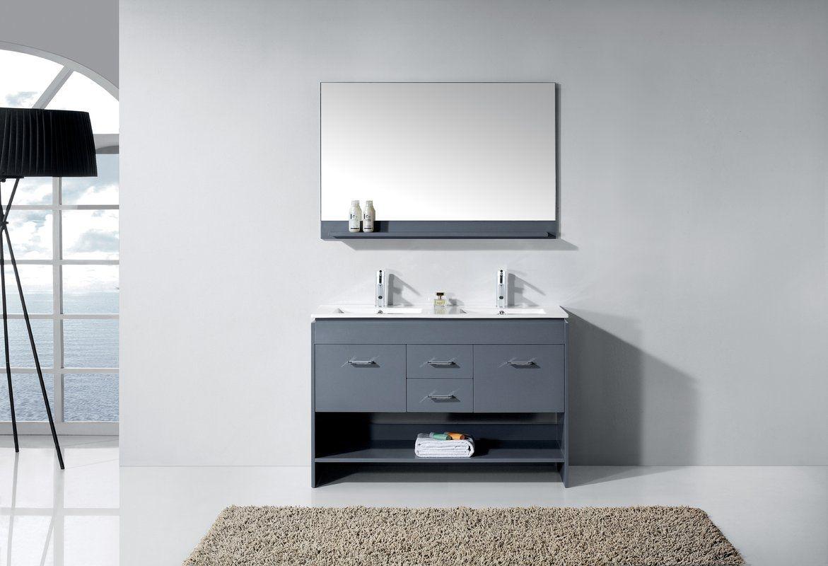 48 Inch Bathroom Vanity Double Sink Master Bath