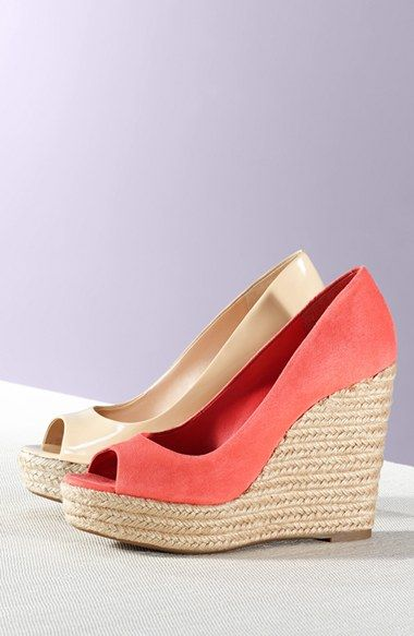ac8bcdc9a49 Vince Camuto 'Totsi' Peep Toe Espadrille Wedge (Women) | Nordstrom ...