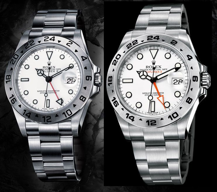 Rolex Explorer Ii 42mm Vs 40mm