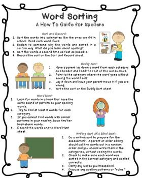 Words Their Way Homework Schedule - image 9