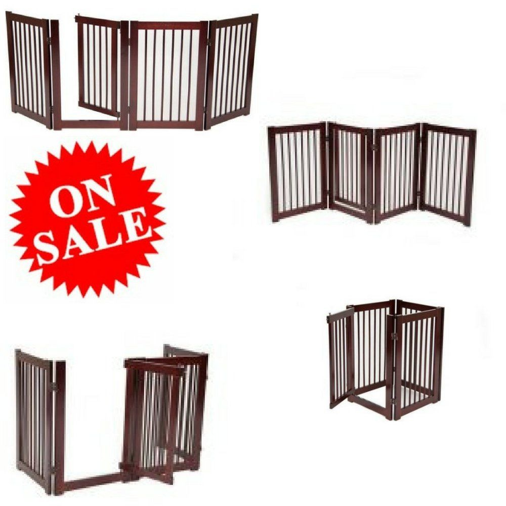 Tall Wide Pet Gate Portable Expandable