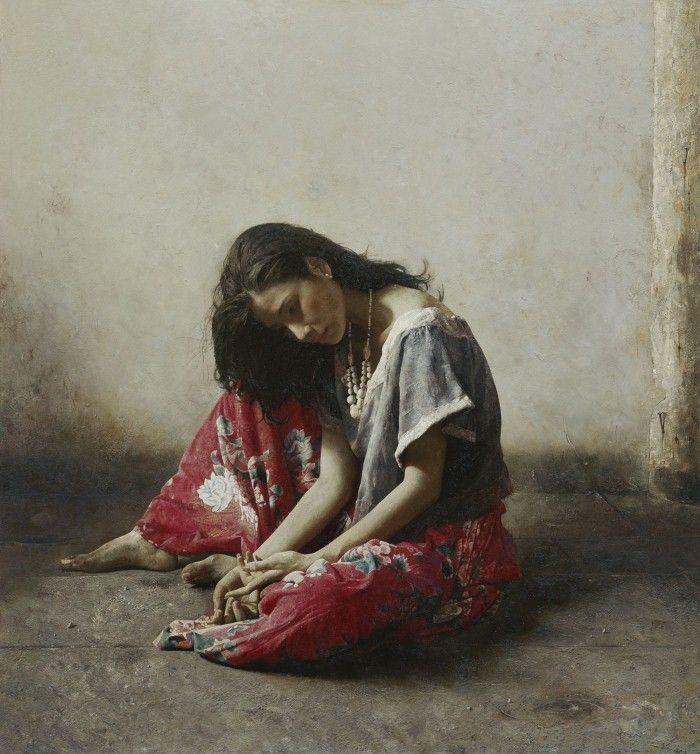 Академическая живопись. Lu JianJun