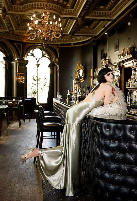 1920s glamour   1920's Paris inspired Glamour Noir