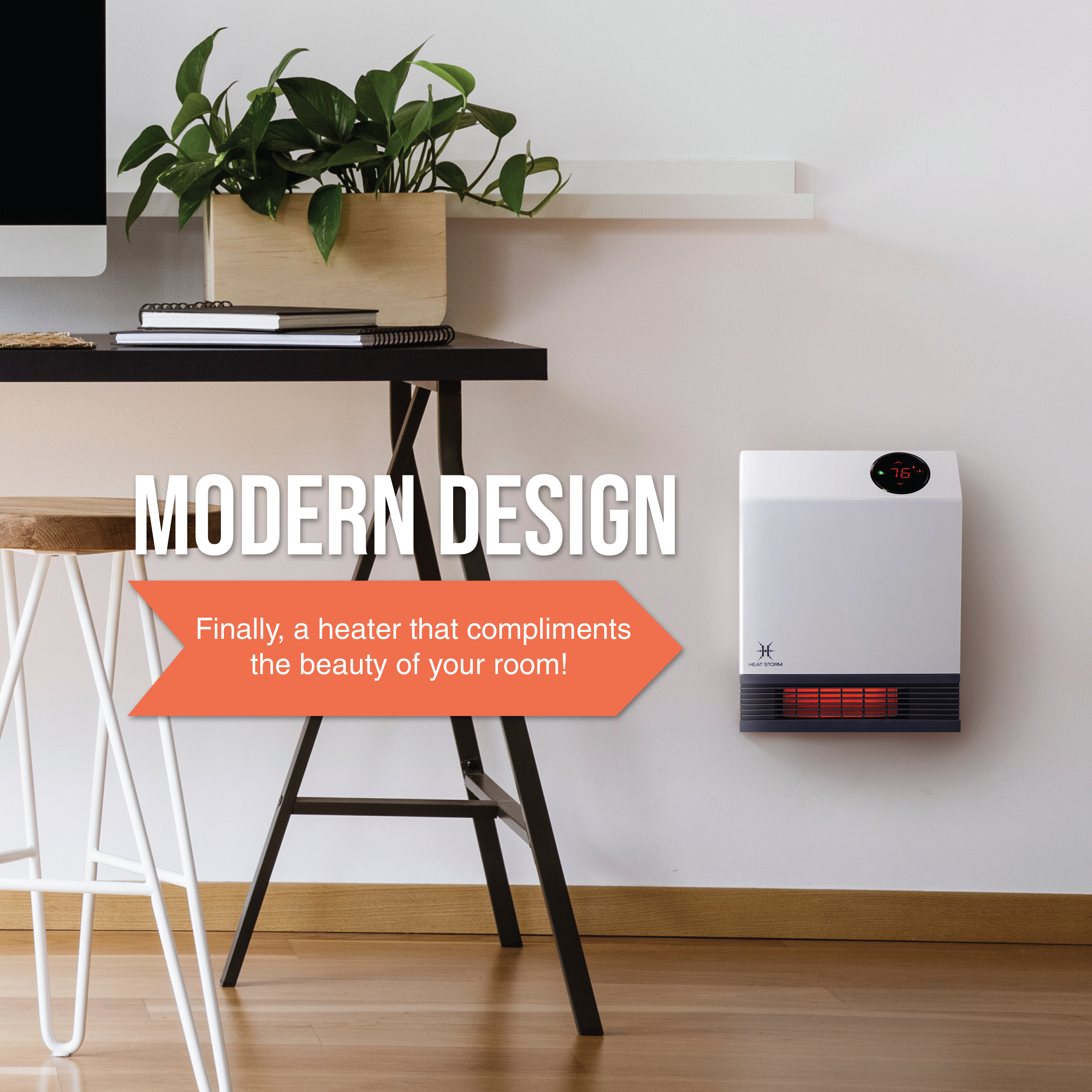 The Heat Storm Wall Heater With Wifi Unit Is A Great