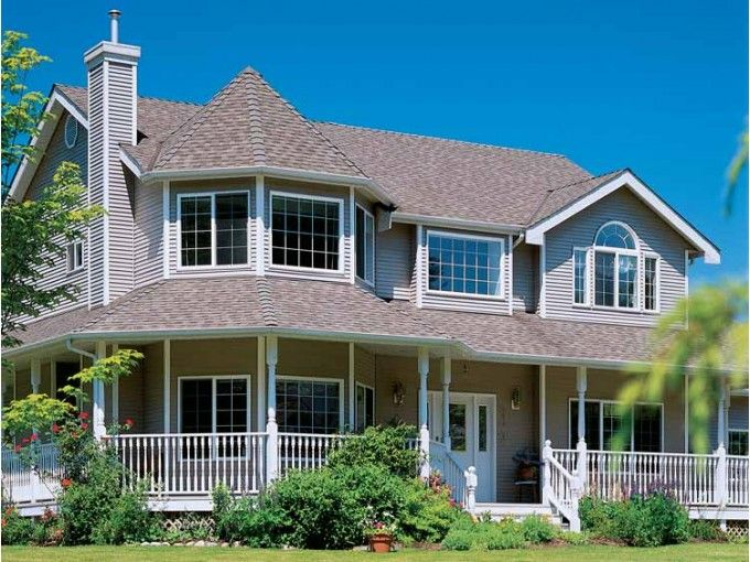 Victorian Style House Plan 4 Beds 2 5 Baths 2516 Sq Ft Plan 47 852 Victorian House Plans Victorian Style Homes Victorian Homes