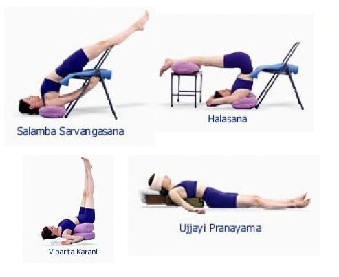 practices that restore and rejuvenate  yoga sequences