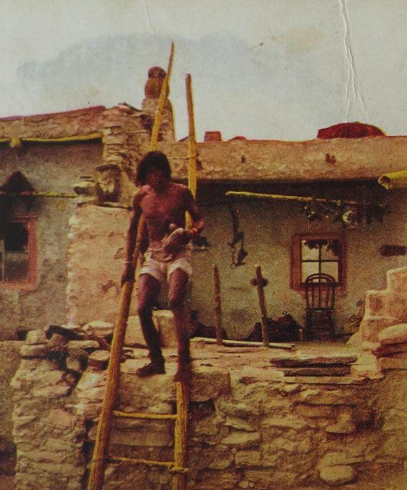 Enjoyable Antique Lot Of 2 Stereoview Cards Hopi Moki Indian Native Interior Design Ideas Inesswwsoteloinfo