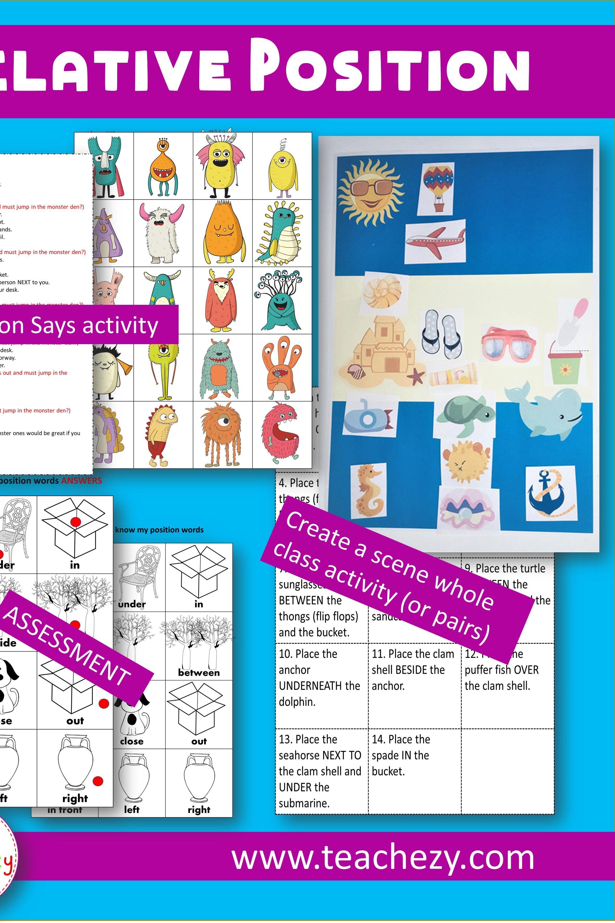 Relative Position Lesson Preschool And Kindergarten Teachezy Kindergarten Math Geometry Lesson Plans Geometry Lessons [ 3543 x 2362 Pixel ]