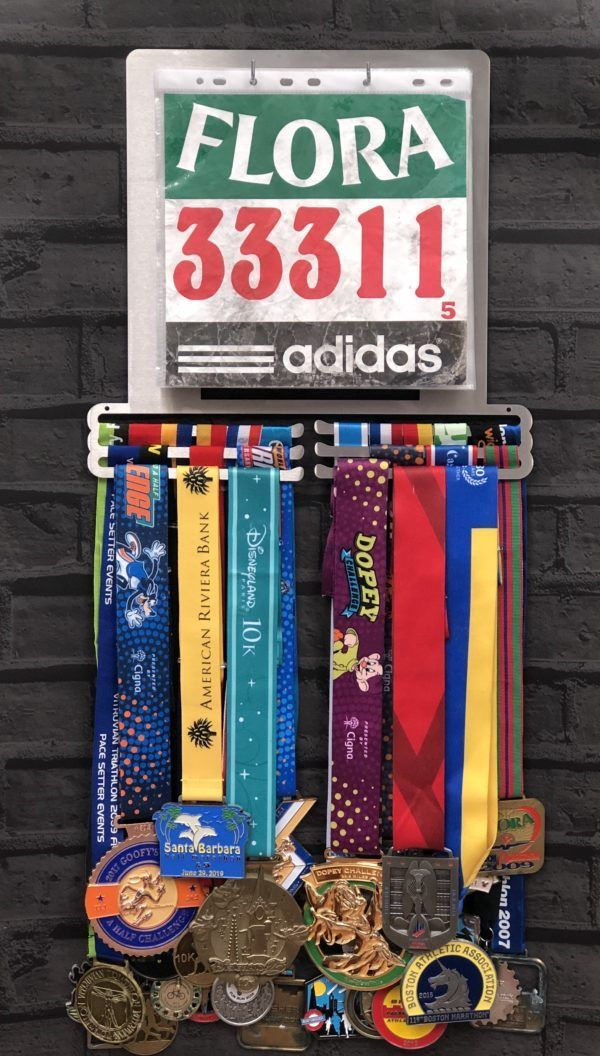 Cycling Medal Display Hangers  Medal Hangers and Medal Displays from The Runners Wall