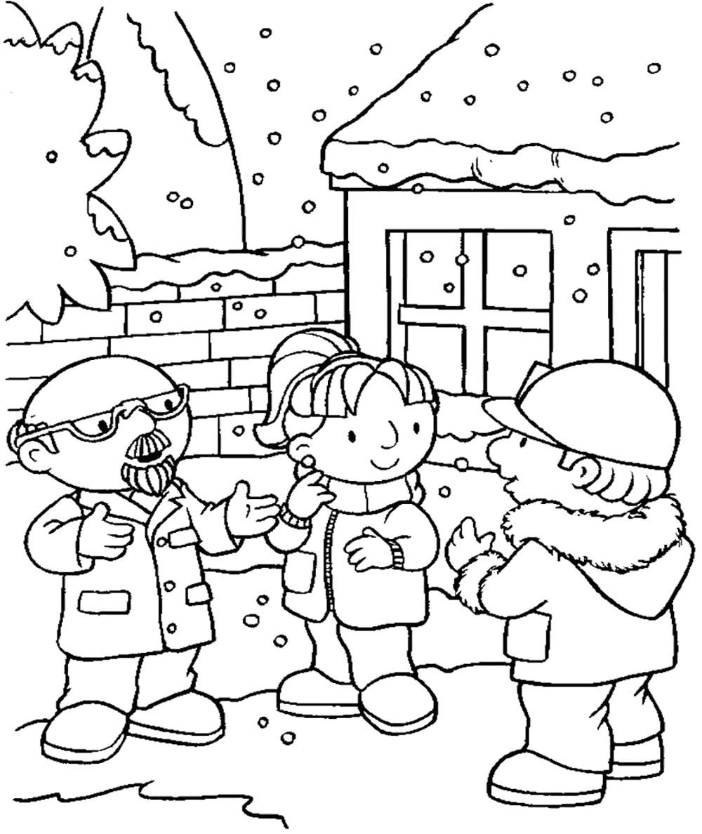 Bob The Builder Discussion Coloring Page | Kids Coloring Pages ...