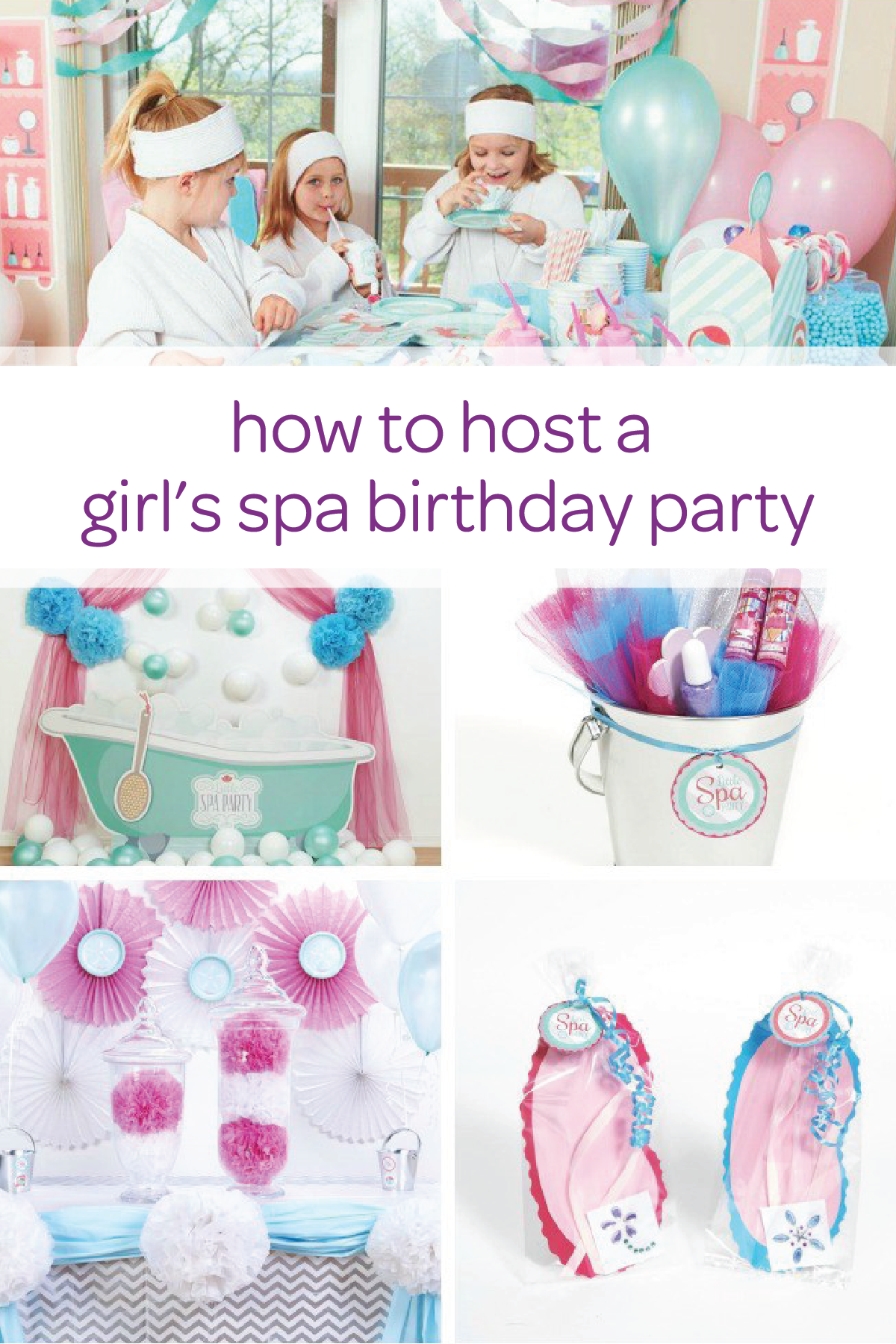 Little Kid Birthday Party How To Host The Cutest Little Girls Spa Party Kid S Birthday