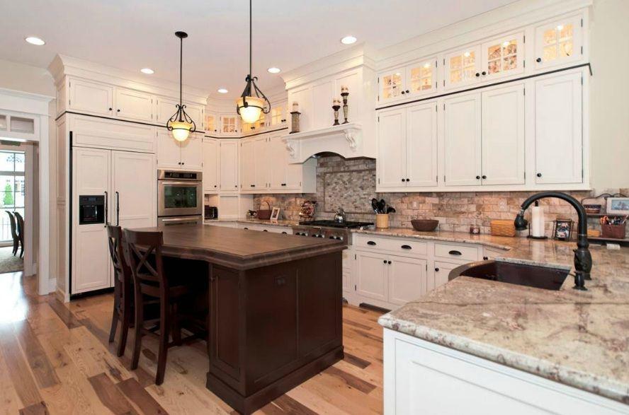 colonial cream granite, | White kitchens | Pinterest