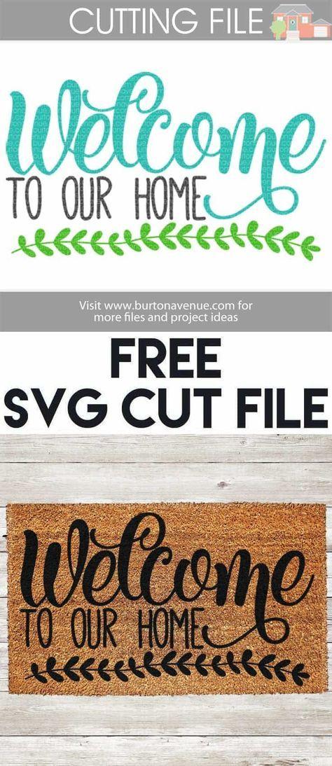 to our Home SVG Cut File Cricut Free svg cut