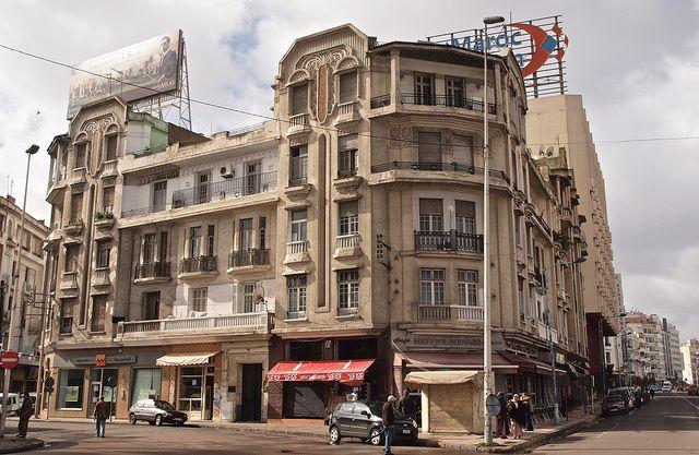 Hassan Et De Lasalle Colonial Architecture Art Deco Casablanca