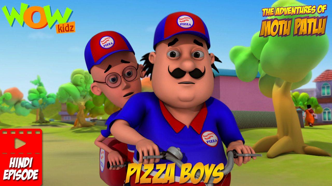 Pin By Pavithra On Motu Patlu Pizza Delivery Pizza Boys