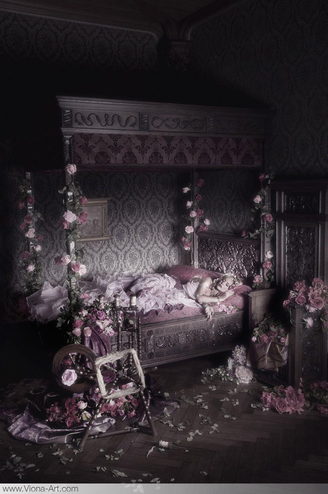 Viona ielegems  Gothic fairytale photography