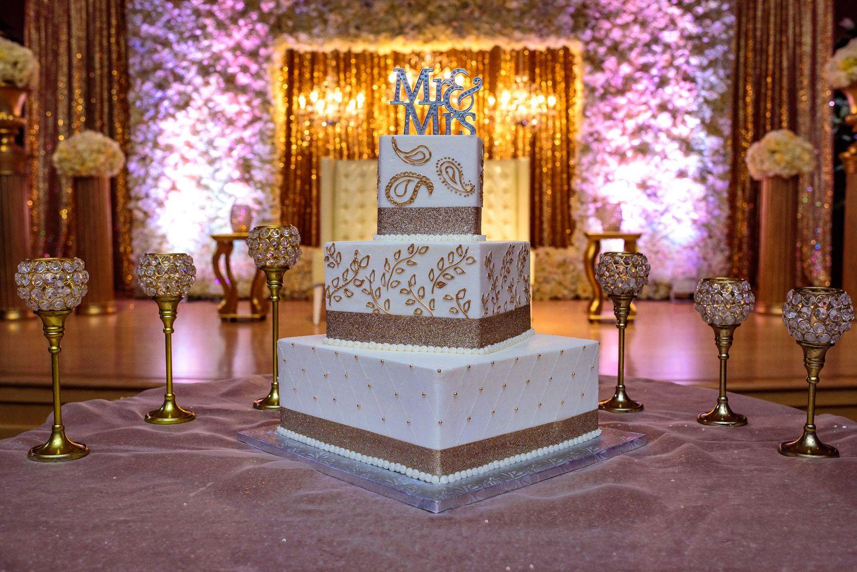 Indian Fijian Fusion Wedding Livermore Community Center White