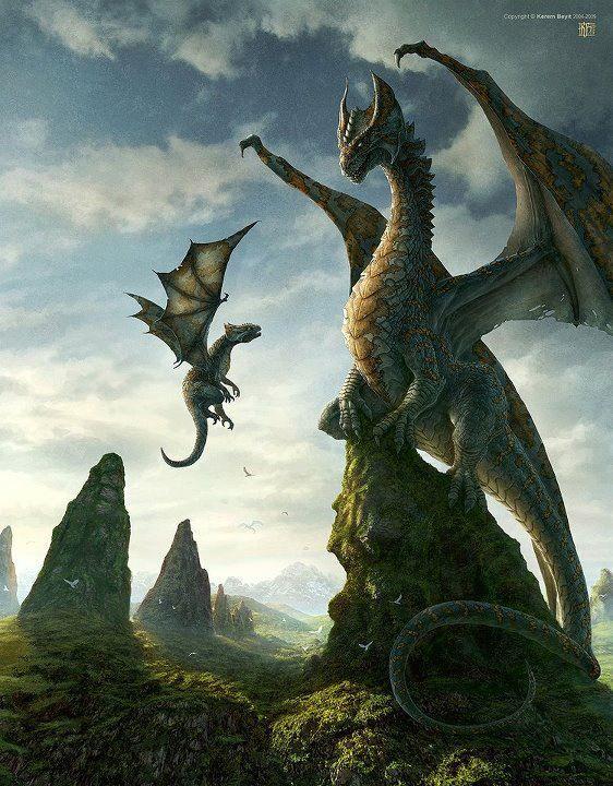 cool dragon art alana white dragon fantasy myth mythical mystical