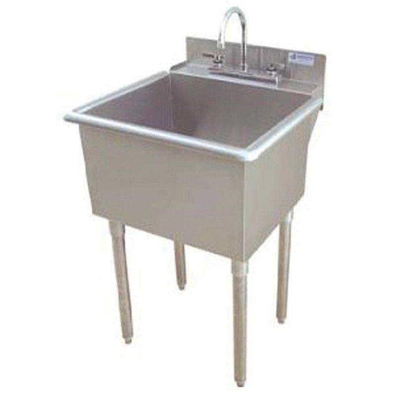 Griffin Lt 118 Utility Commercial Sink Stainless Steel At Atg