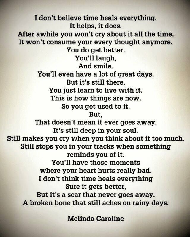 Exactly How I Feel About My Dad And Brother Not Even Close To Being There About My Mom Still To Fresh Wounds St Grieving Quotes Grief Quotes Memories Quotes