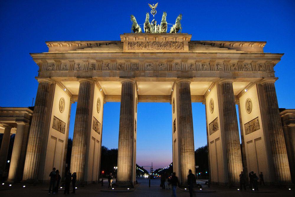 Porta De Brandenburg Berlin Brandenburg Gate Gate Pictures Brandenburg
