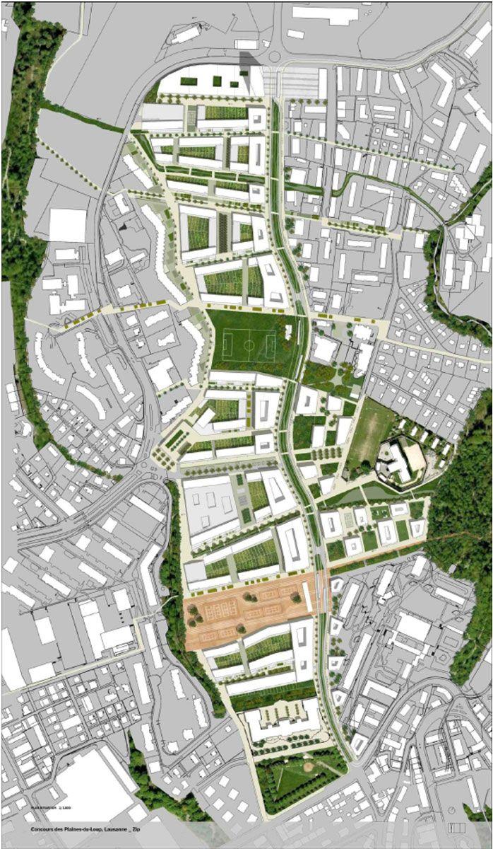 Zip tribu architecture masterplan pinterest plan for Plan masse architecture