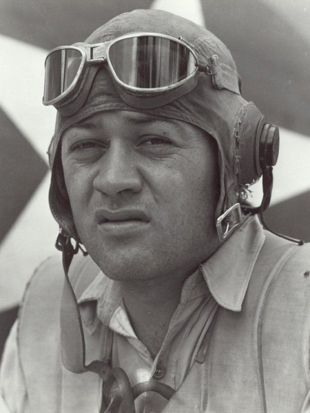 """On January 11, 1988 legendary Marine Corps pilot Gregory """"Pappy"""" Boyington died at the age of 75. He was awarded the Medal of Honor for his service during World War II."""