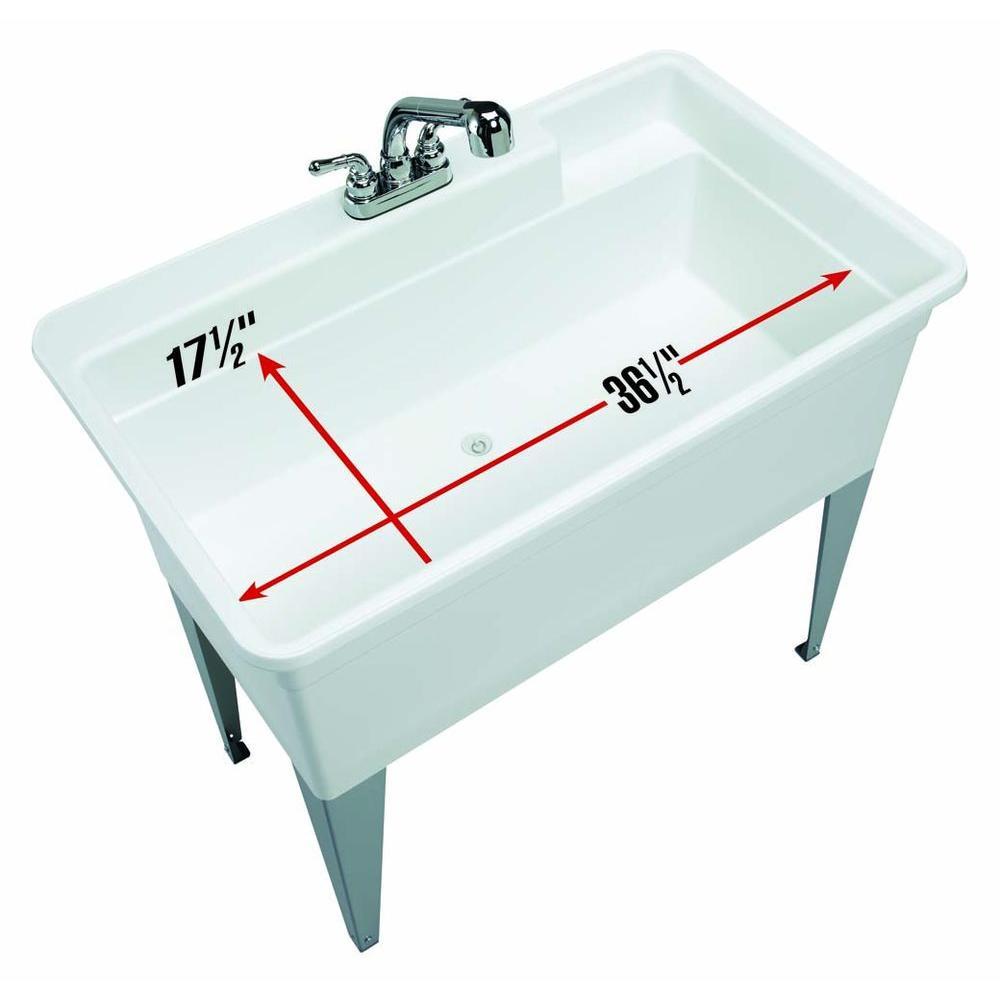Mud Room With Dog Bath Utility Sink