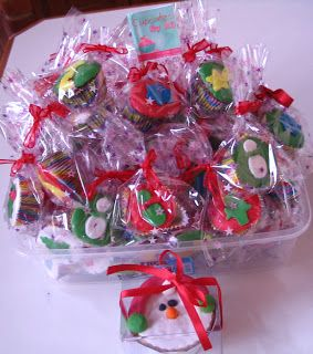 Cupcakes de Natal by Rô - Encomendas Ronilan@yahoo.com.br