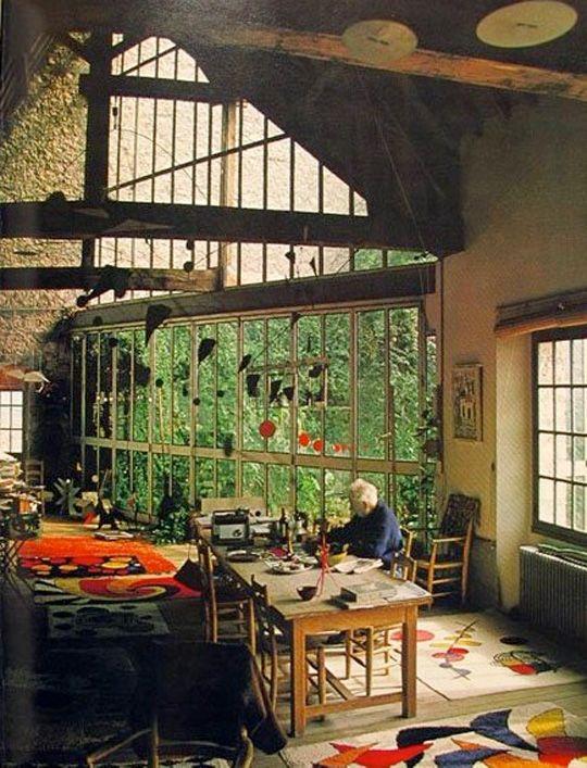 Studio of Alex Calder