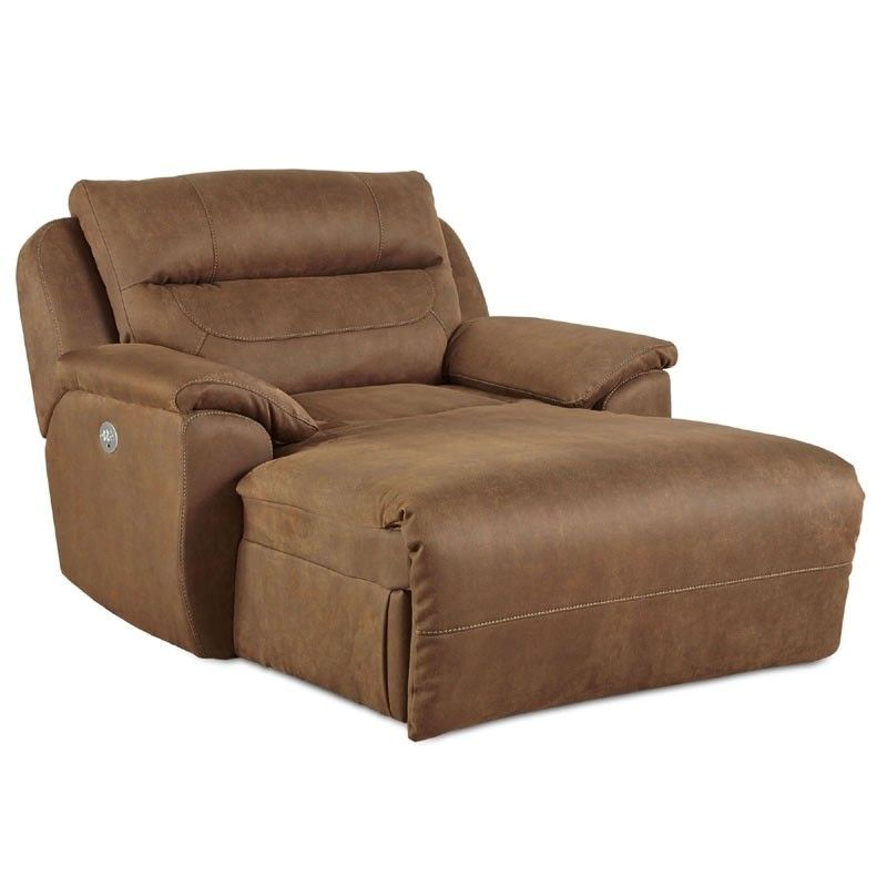 Southern Motion Five Star Chaise Lounge With Power Headrest 512 60p Recliner With Ottoman Chair And A Half Recliner