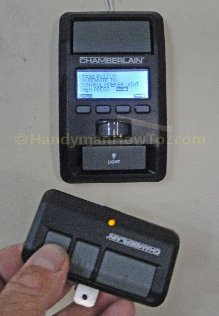 Changing Chamberlain Garage Door Opener Battery Httpvoteno123