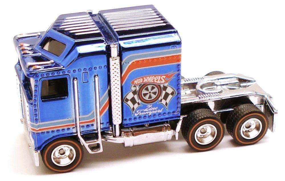 Spectraflame Blue 1/64 Thunder Roller Hotwheels HotWheelsCollectors.com Series 9, 2010
