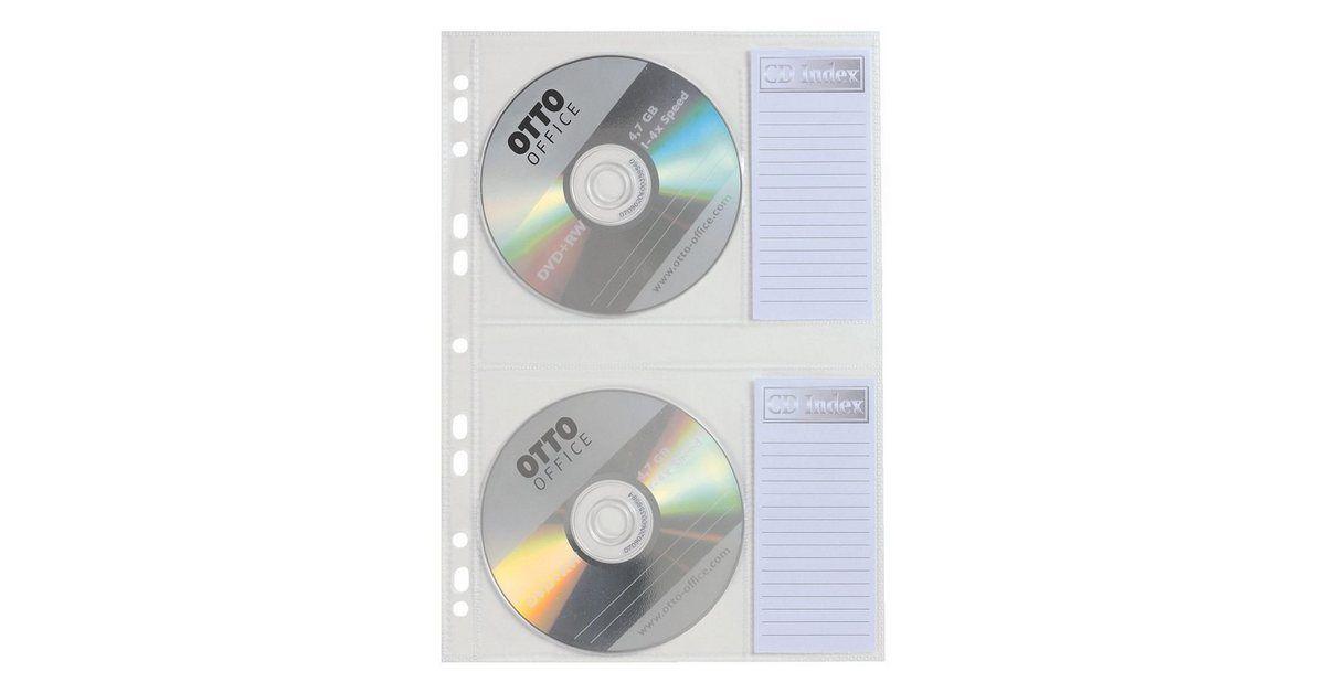 CD/DVD/Blu-ray-Schutzhüllen (202x287 mm)