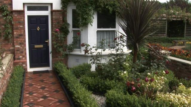 Victorian Terraced House Garden Design Ideas : Victorian garden design front ideas