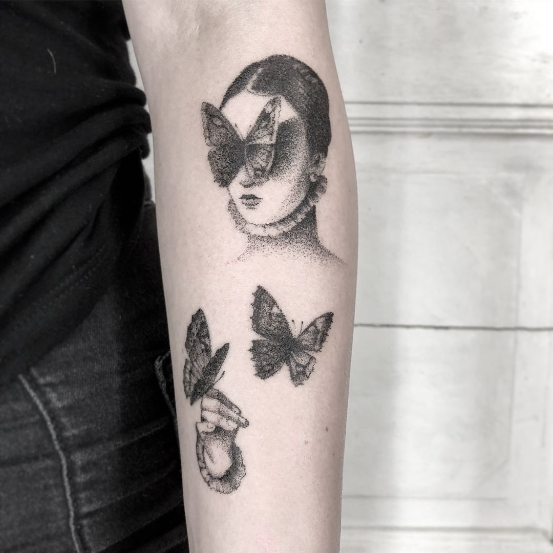 Tattoos by Artist Lena Lu
