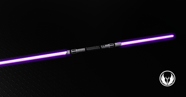 Adaptive Saber Parts Purple Double Bladed Lightsaber Thank You Yes Please Http Www Saberparts C Purple Lightsaber Lightsaber Star Wars Characters Pictures