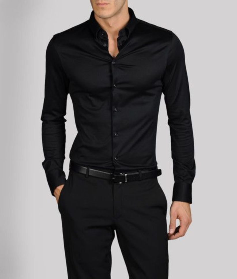 02145ddc2789f nice 43 Outfit Ideas to Get the Perfectly Fitted Dress Shirt for Men https