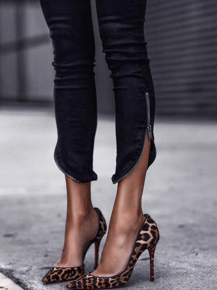8711e93aaaa BQ Black Friday Sale】Up to 90% OFF! Leopard Printed Pointed Toe ...