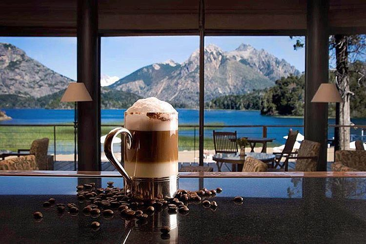 """It's what's inside that counts ;) #coffeebreak at @llaollaohotel #argentina"""